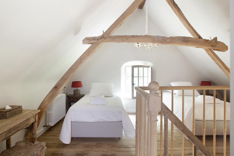 Vakantielogies - Bed kamer mezzanine ...